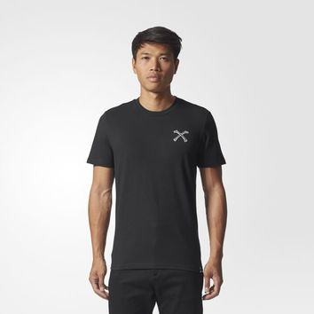 adidas Bonethrower Tee - Black | adidas UK