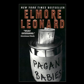 Pagan Babies by Elmore Leonard (2000, Hardcover)