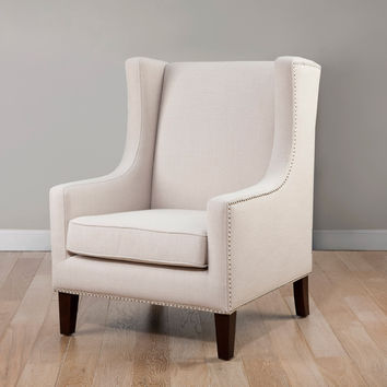 Whitmore Wing Lindy Chair | Overstock.com Shopping - The Best Deals on Living Room Chairs