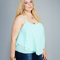 Flowy Chiffon Swing Tank | Wet Seal+