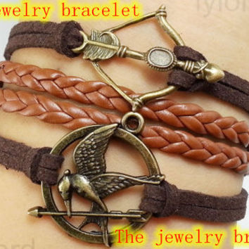 Welcome to my shop, Bracelet-The Deathly Hallows Bracelet / Harry Potter Jewelry Arrow Bracelet