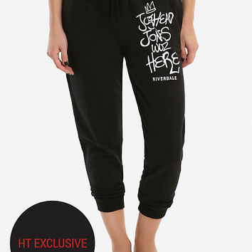 Riverdale Jughead Was Here Girls Jogger Pants Hot Topic Exclusive