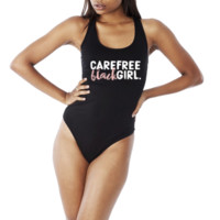 Carefree Black Girl Bodysuit | Pre Order