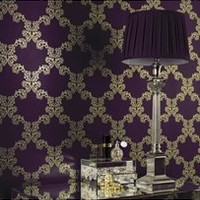 Graham & Brown Palace Wallpaper - Purple
