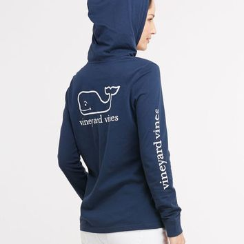 ebf92fc2f71 Long-Sleeve Printed Whale Hoodie Tee from vineyard vines