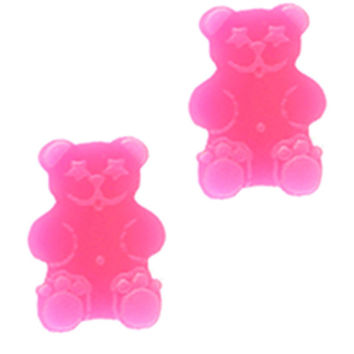 GUMMI BEAR PINK EARRINGS