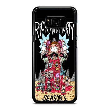 Rick And Morty Season1 Samsung Galaxy S8 Case