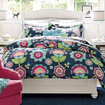 Chelsea Papercut Floral Bedroom