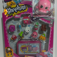 Shopkins Season 4 12 pack with Dennis Ball Ultra Rare #4-083