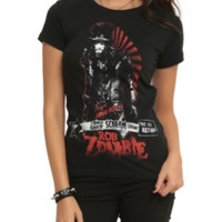 Rob Zombie Dead Return Girls T-Shirt