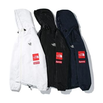 The North Face autumn and winter new tide brand waterproof and windproof jacket couple hooded jacket