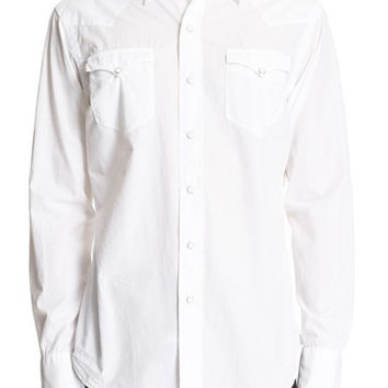 Classic Fit Cotton & Silk Western Sport Shirt