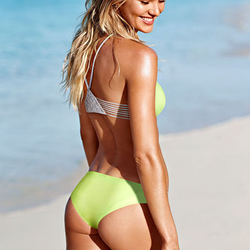 The Strappy Macramé Cheeky Bottom - Beach Sexy - Victoria's Secret