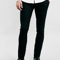 BLACK ULTRA SKINNY DRESS PANTS - Topman