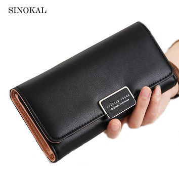 New Arrival Women Wallets Purse Female Purse Women's Natural Leather Wallets PU Ladies Clutch Phone Bag Carteira Feminina Gifts