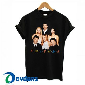 Friends Group Photo T Shirt Women And Men Size S To 3XL
