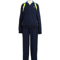 Lacoste Striped Two Piece Tracksuit