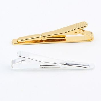 Men's Gold/Silver Tie Clip