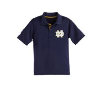 Under Armour Boys' Pre-School Notre Dame Polo