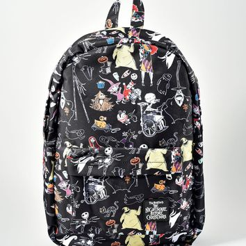 The Nightmare Before Christmas Character Backpack