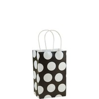 Black Polka Dot Mini Gift Bag