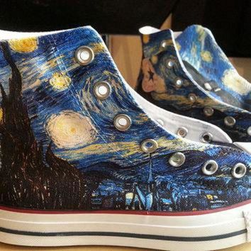 DCKL9 Starry Night Custom Converse All Stars
