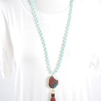 The Jessica Necklace - Mint