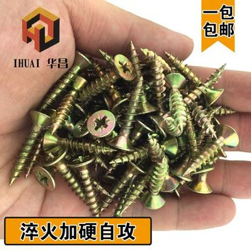 Cross head self - tapping screw fiber nail