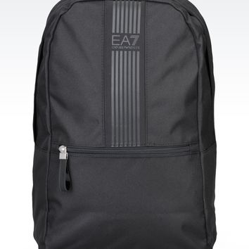 Men Backpack EA7 - TWO TONE BACKPACK WITH LOGO EA7 Official Online Store