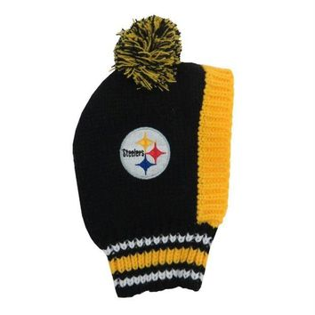 Chenier Pittsburgh Steelers Pet Knit Hat
