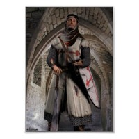 Knight Templar - The last stand Poster from Zazzle.com