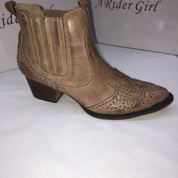 A Rider Girl Western Booties