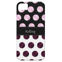 Cute and Trendy Polka Dot Volleyball iPhone 5 Case