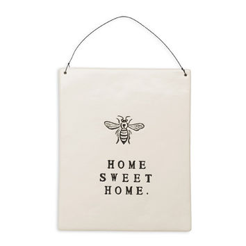 "Rae Dunn ""Home Sweet Home"" Wall Plaque"