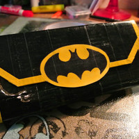 Batman Woman's Clutch Duct Tape Wallet