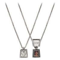LOVED LOCKET | Heart Locket, Pewter, Silver, Necklace | UncommonGoods