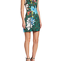 Roberto Cavalli - Printed Shift Dress - Saks Fifth Avenue Mobile