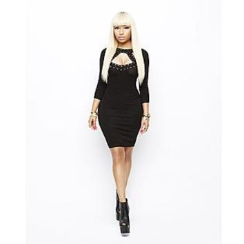 Nicki Minaj Women's Sweater Dress - Studded