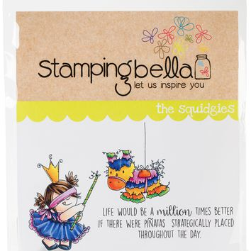 Stamping Bella Cling Stamps-Pinata Squidgy
