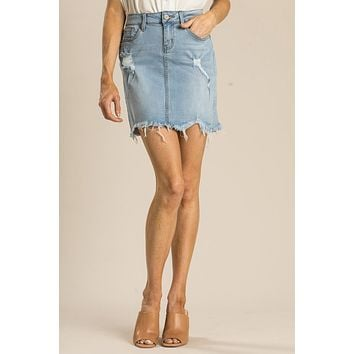 Kara Denim Skirt