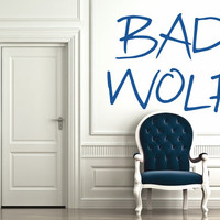 Bad Wolf Wall Decal - Medium