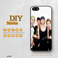5 seconds of summer, iPhone 5 case, iPhone 5C Case, iPhone 5S case, iPhone 4S Case, Samsung S3 S4 S5, Note 2 3, Phone Cases, 5C02526