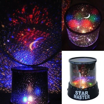 Romantic Kids Gift Sky Star LED Starry Night light Cosmos Master Projector Lamp AP = 1645853508