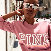 Victoria's Secret PINK pink t-shirt long sleeve blouse