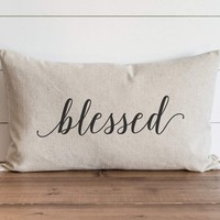 Blessed 16 x 26 Pillow Cover