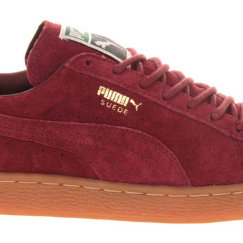timeless design 644ec ac33f Puma Suede Classic Team Burgundy Gum - Unisex Sports