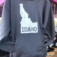 Idaho hoodie sweatshirt, hoodies, Idaho wearables, Idaho apparel, Idaho clothing, Idahome, idaho design, Idaho souvenir, Idaho fashion