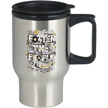 Foster The People art For Stainless Travel Mug *