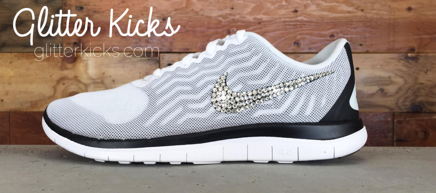 Women s Nike Free 4.0 V5 By Glitter Kicks from Glitter Kicks 0c90021f5