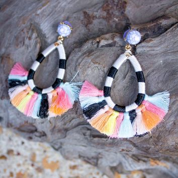Deco 2 Tassel Earrings